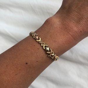14k gold ID bracelet